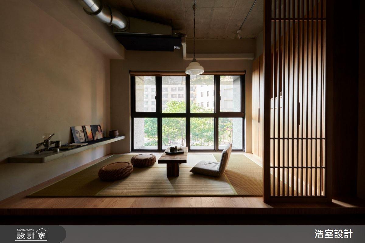 25坪新成屋(5年以下)_人文禪風和室案例圖片_浩室設計_浩室_52之4