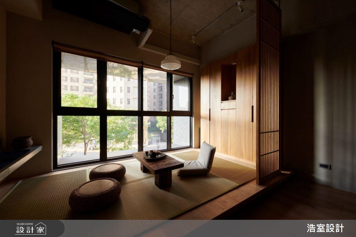 25坪新成屋(5年以下)_人文禪風和室案例圖片_浩室設計_浩室_52之3
