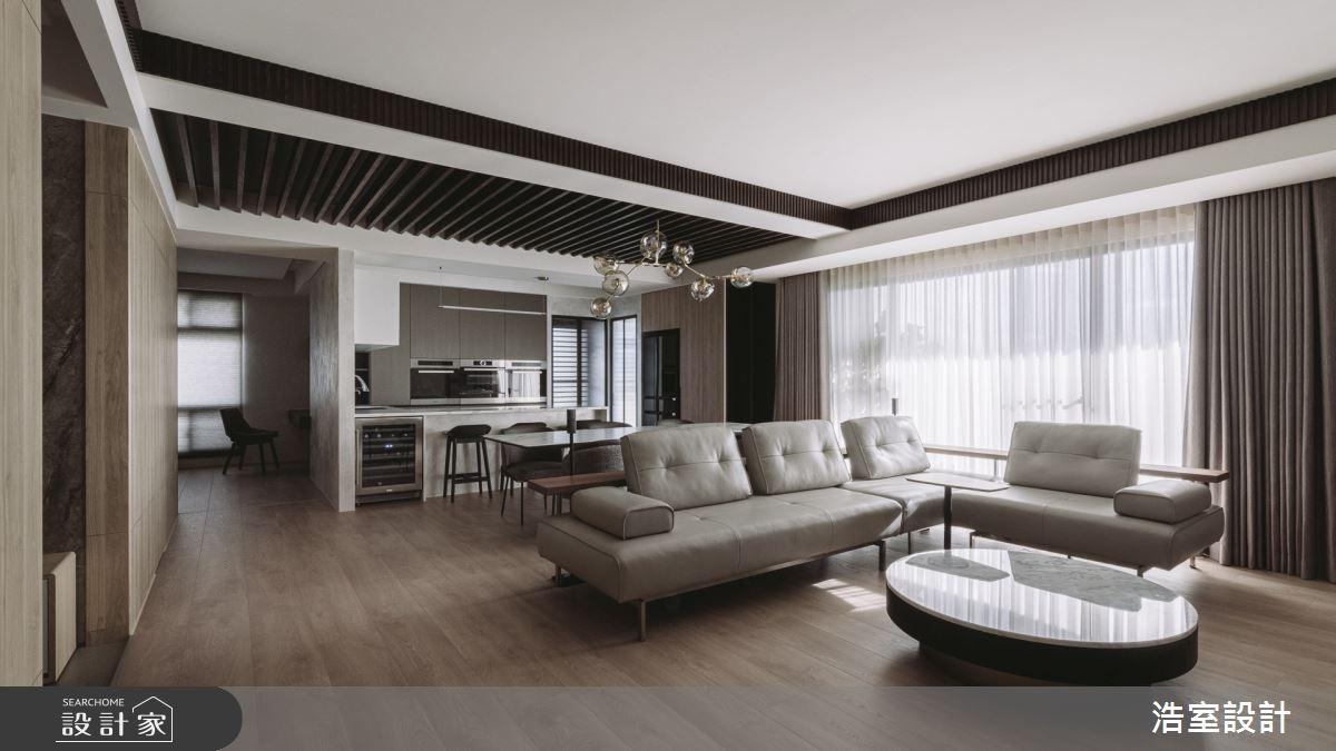 45坪新成屋(5年以下)_休閒風客廳案例圖片_浩室設計_浩室_53之2