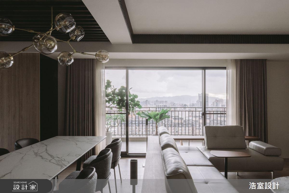 45坪新成屋(5年以下)_休閒風客廳案例圖片_浩室設計_浩室_53之4