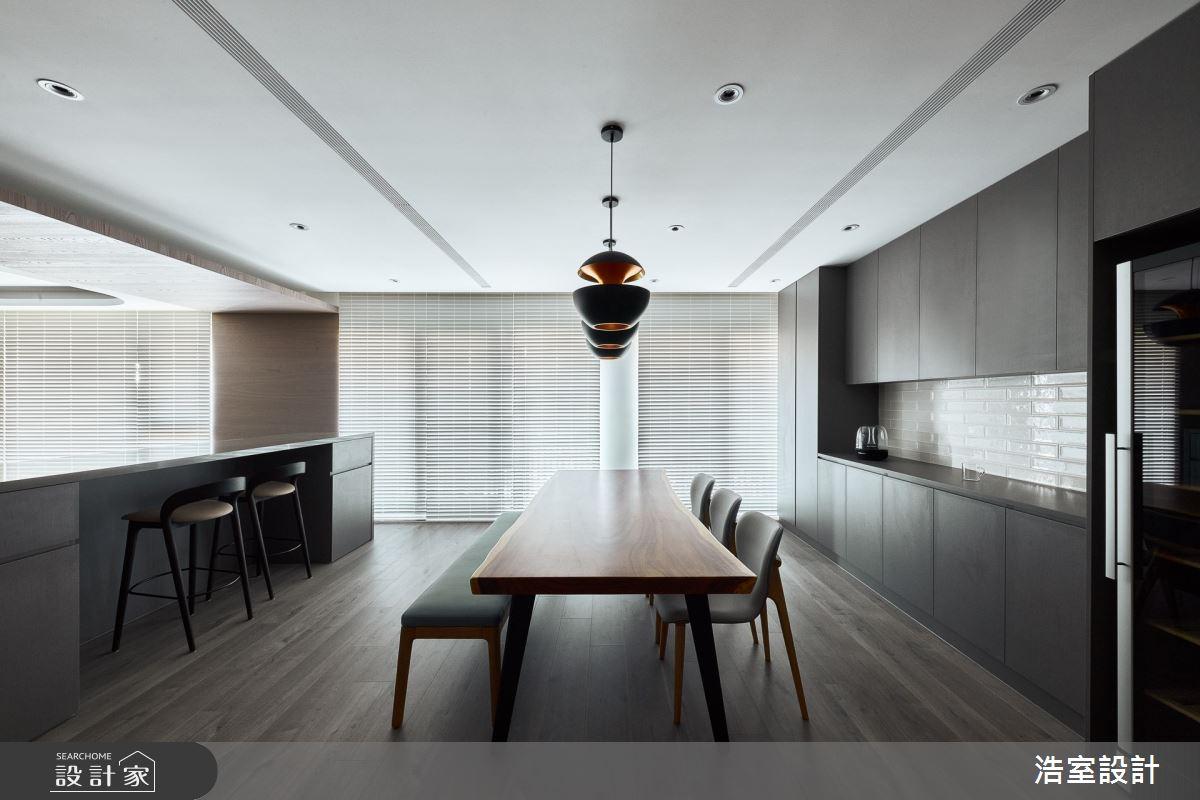 38坪新成屋(5年以下)_現代風餐廳案例圖片_浩室設計_浩室_54之4
