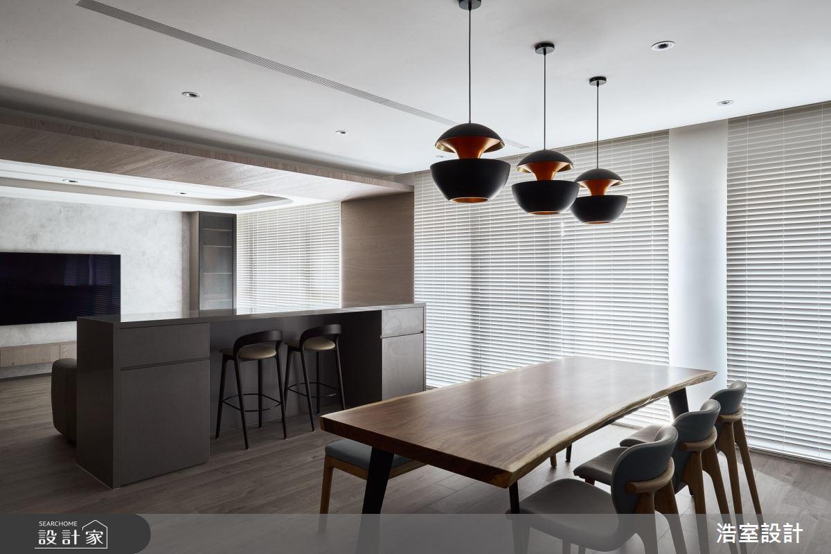38坪新成屋(5年以下)_現代風餐廳案例圖片_浩室設計_浩室_54之3