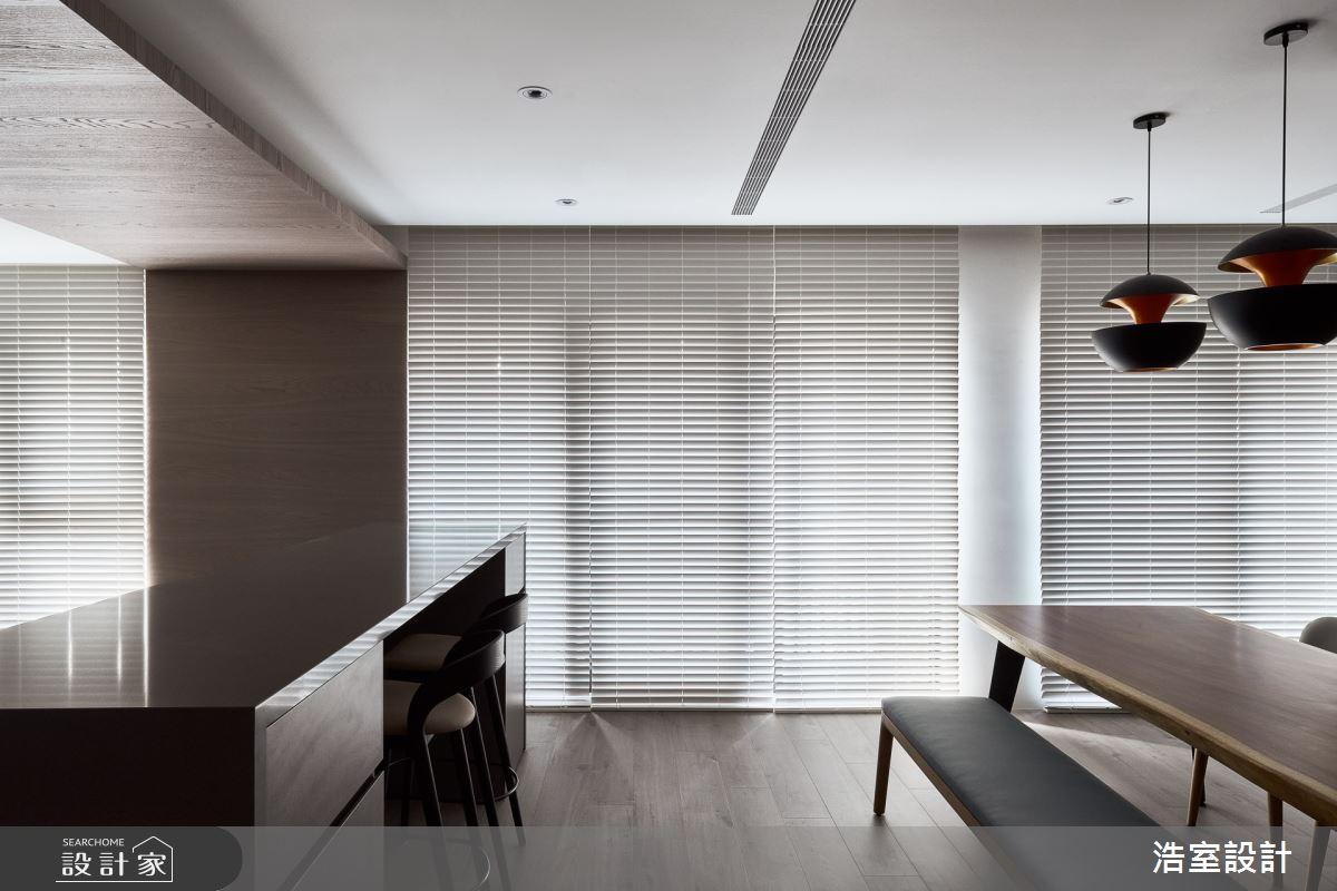 38坪新成屋(5年以下)_現代風餐廳案例圖片_浩室設計_浩室_54之5