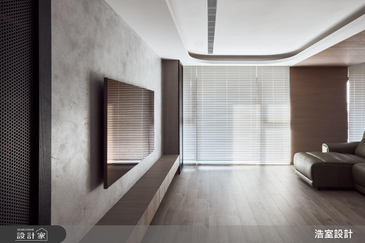 38坪新成屋(5年以下)_現代風客廳案例圖片_浩室設計_浩室_54之2
