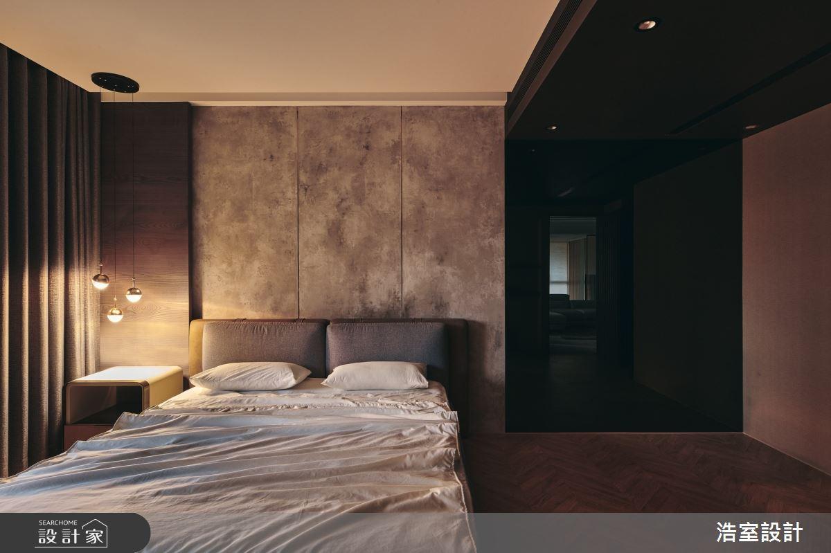 35坪新成屋(5年以下)_飯店風臥室案例圖片_浩室設計_浩室_58之16