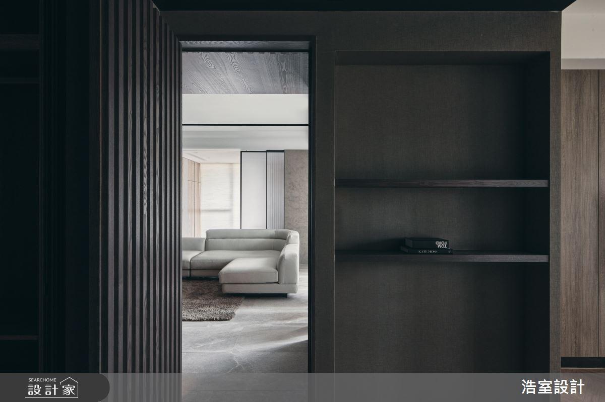 35坪新成屋(5年以下)_飯店風走廊案例圖片_浩室設計_浩室_58之14