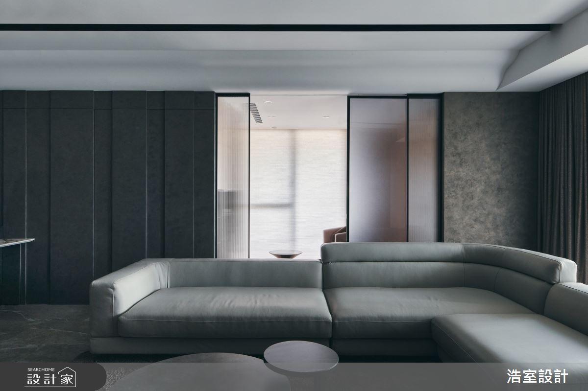 35坪新成屋(5年以下)_飯店風客廳案例圖片_浩室設計_浩室_58之10