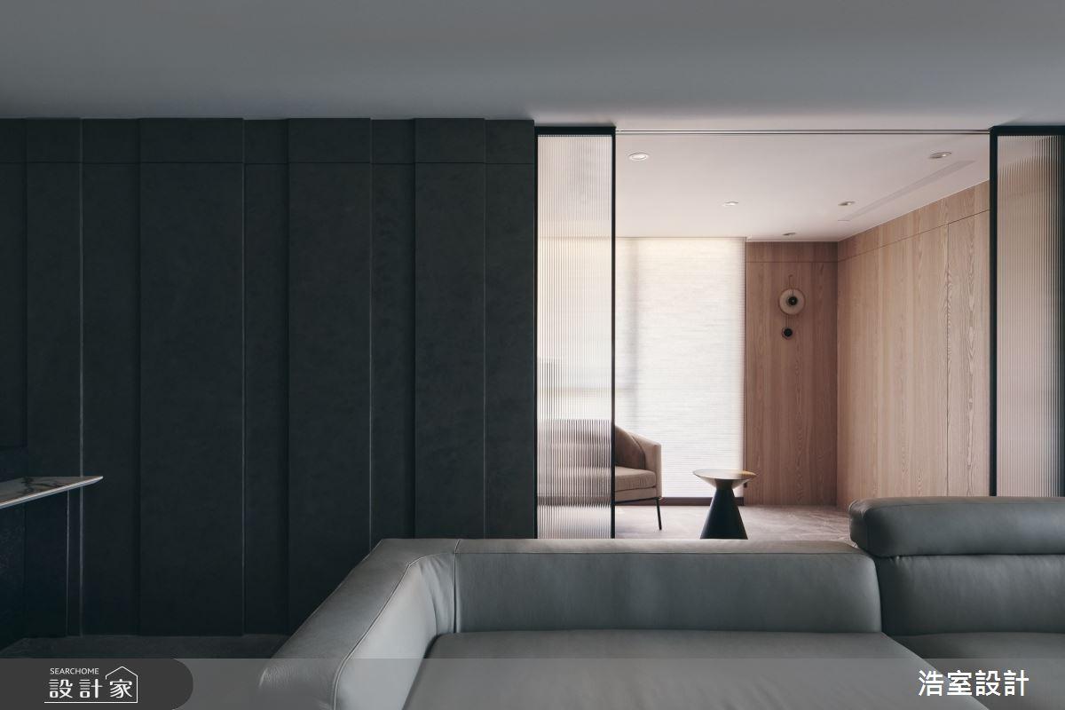 35坪新成屋(5年以下)_飯店風客廳案例圖片_浩室設計_浩室_58之11