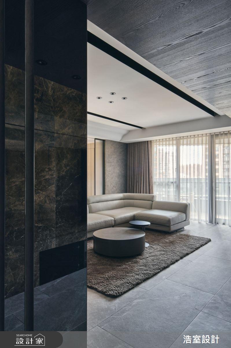 35坪新成屋(5年以下)_飯店風案例圖片_浩室設計_浩室_58之2