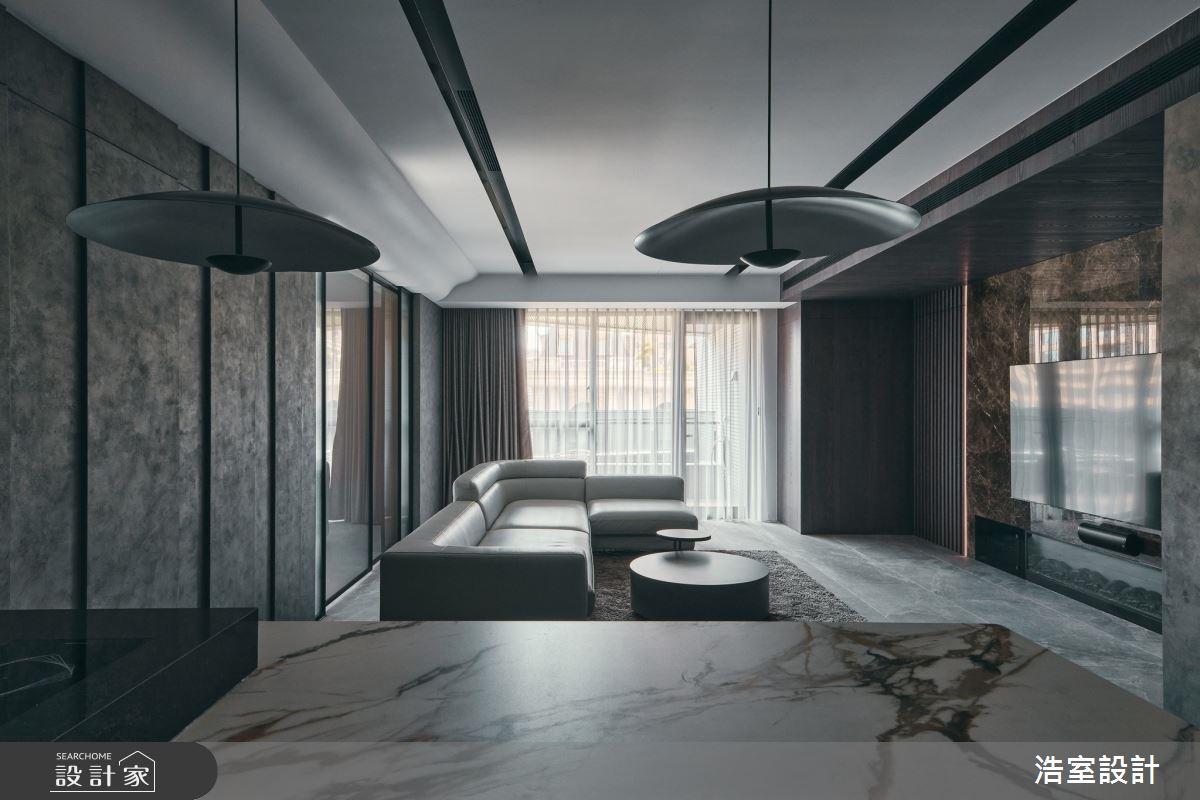 35坪新成屋(5年以下)_飯店風案例圖片_浩室設計_浩室_58之3