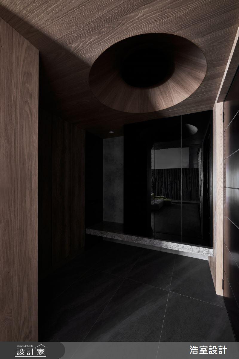 40坪新成屋(5年以下)_現代風玄關案例圖片_浩室設計_浩室_59之2