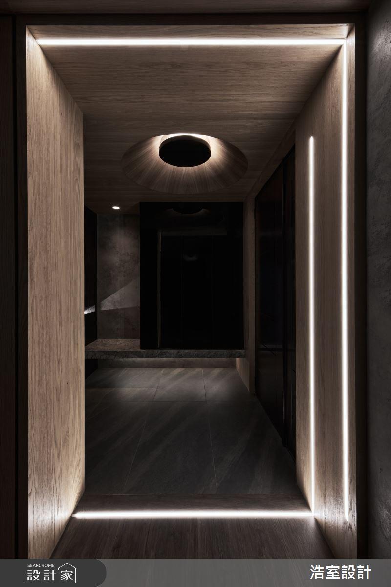 40坪新成屋(5年以下)_現代風玄關案例圖片_浩室設計_浩室_59之3