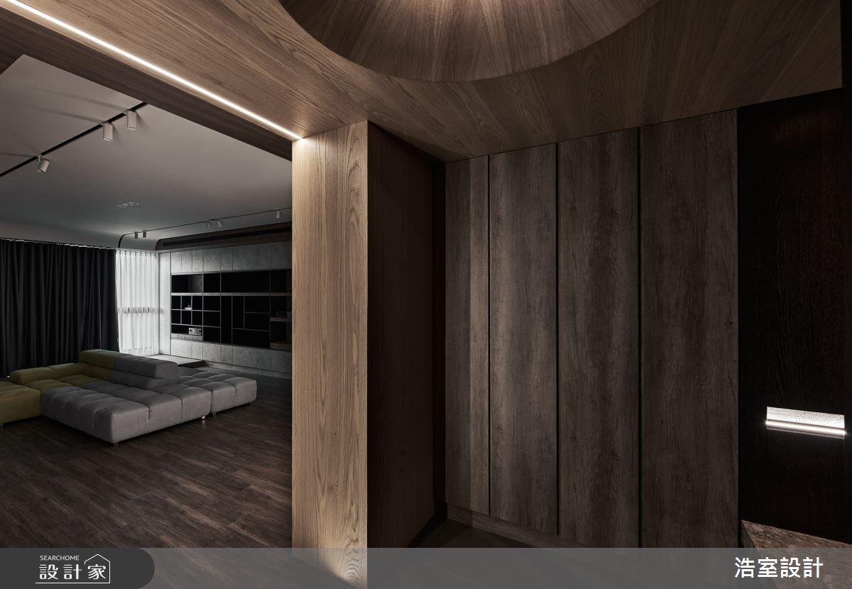 40坪新成屋(5年以下)_現代風玄關客廳案例圖片_浩室設計_浩室_59之63