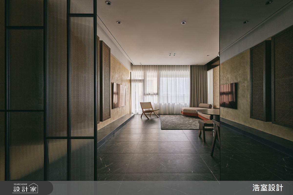 40坪新成屋(5年以下)_新中式風案例圖片_浩室設計_浩室_60之3