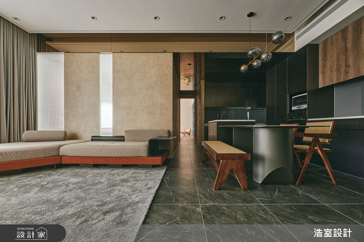 40坪新成屋(5年以下)_新中式風案例圖片_浩室設計_浩室_60之4