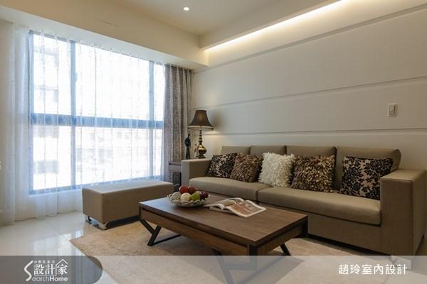 35坪新成屋(5年以下)_現代風客廳案例圖片_趙玲室內設計有限公司_趙玲_06之2