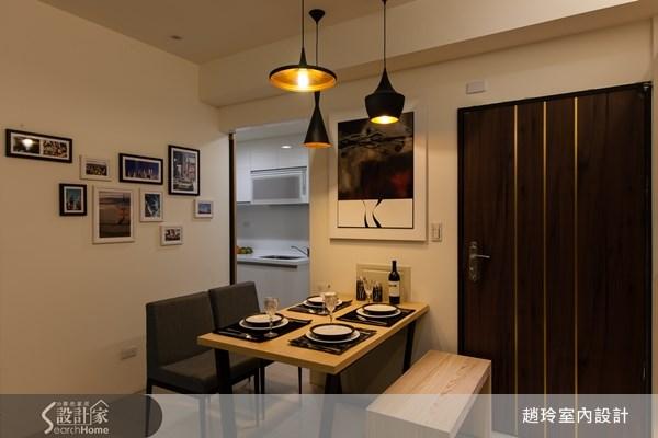25坪新成屋(5年以下)_現代風餐廳廚房案例圖片_趙玲室內設計有限公司_趙玲_12之3