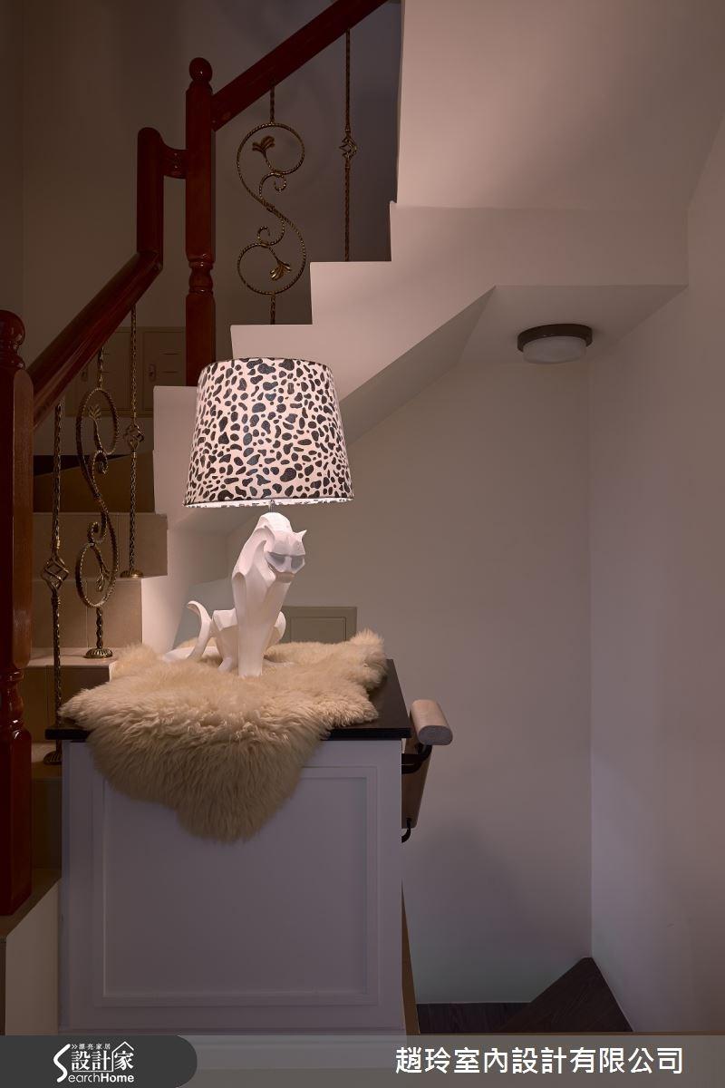 85坪新成屋(5年以下)_新古典樓梯案例圖片_趙玲室內設計有限公司_趙玲_22之4