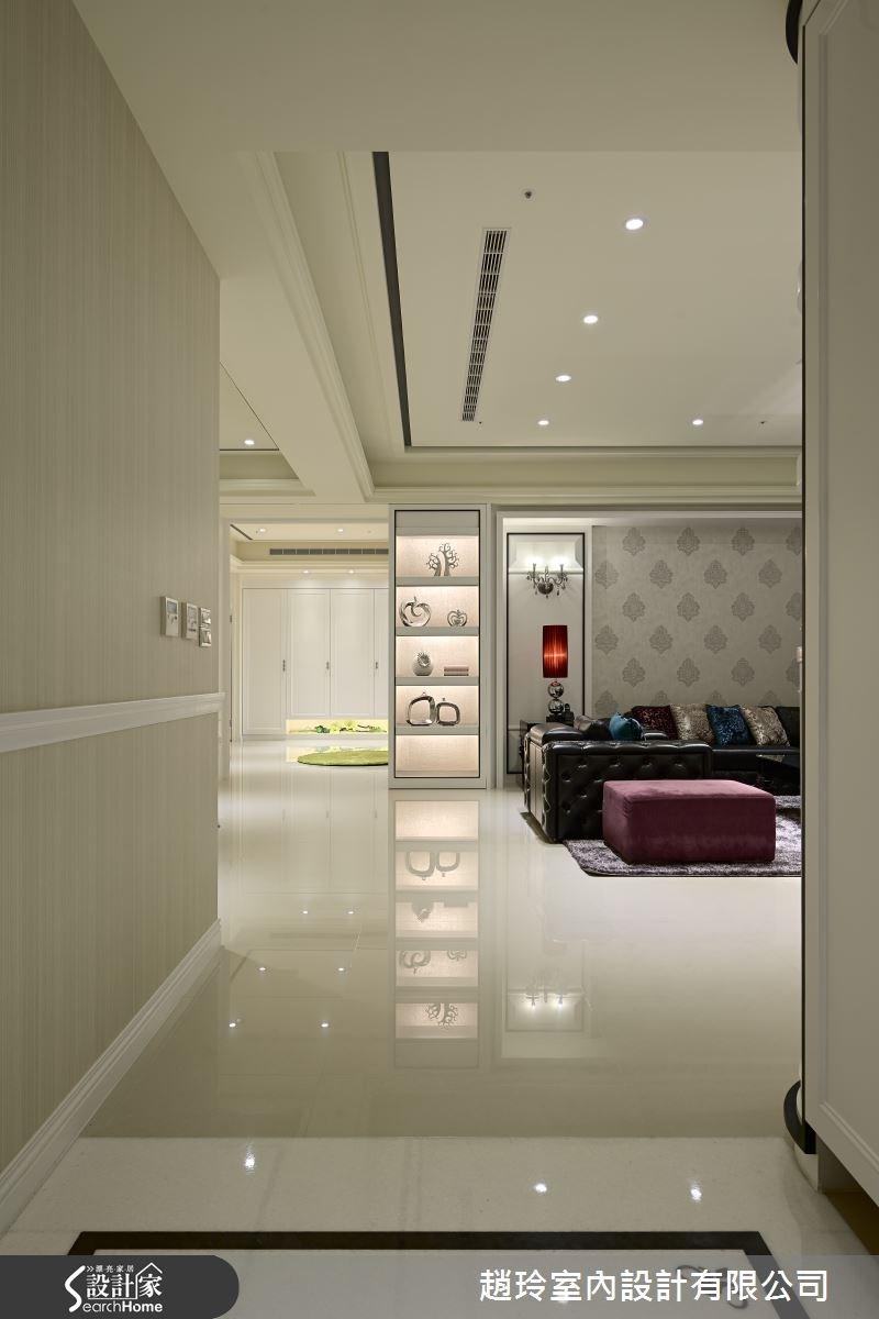 100坪新成屋(5年以下)_新古典走廊案例圖片_趙玲室內設計有限公司_趙玲_25之4