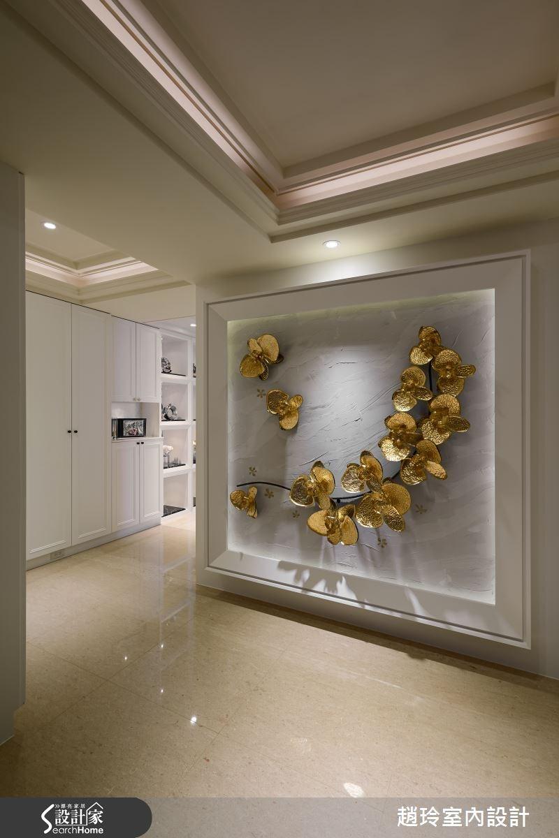 90坪新成屋(5年以下)_新古典走廊案例圖片_趙玲室內設計有限公司_趙玲_26之1