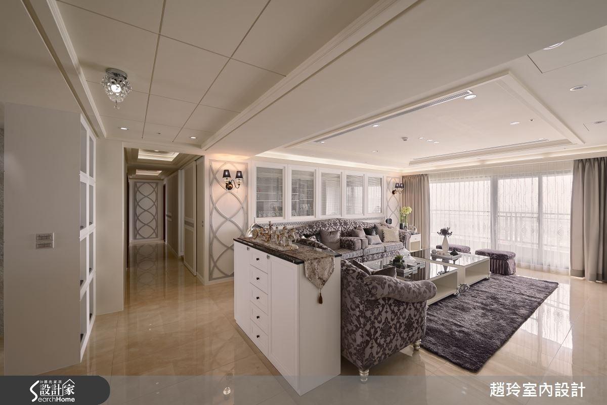 90坪新成屋(5年以下)_新古典客廳走廊案例圖片_趙玲室內設計有限公司_趙玲_26之5