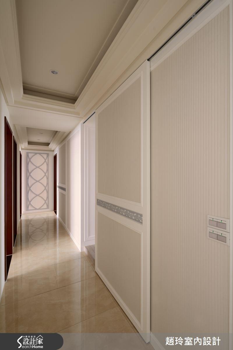 90坪新成屋(5年以下)_新古典走廊案例圖片_趙玲室內設計有限公司_趙玲_26之9