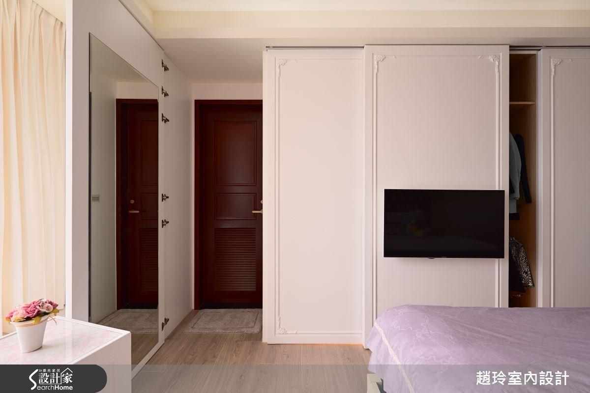 90坪新成屋(5年以下)_新古典臥室案例圖片_趙玲室內設計有限公司_趙玲_26之15