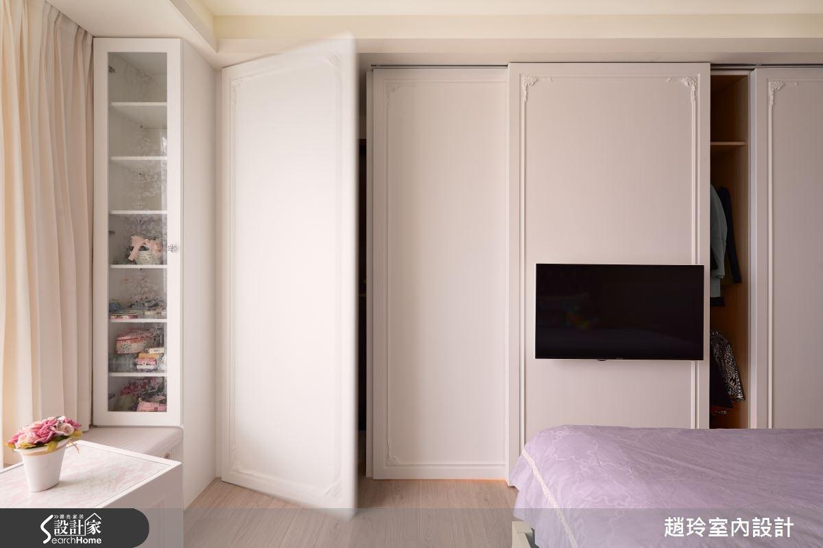 90坪新成屋(5年以下)_新古典臥室案例圖片_趙玲室內設計有限公司_趙玲_26之16
