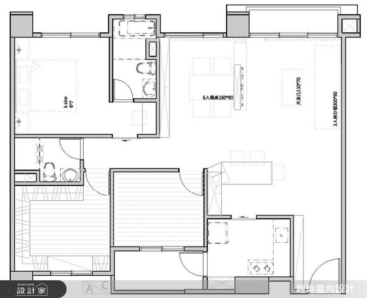 40坪新成屋(5年以下)_工業風案例圖片_趙玲室內設計有限公司_趙玲_27之19