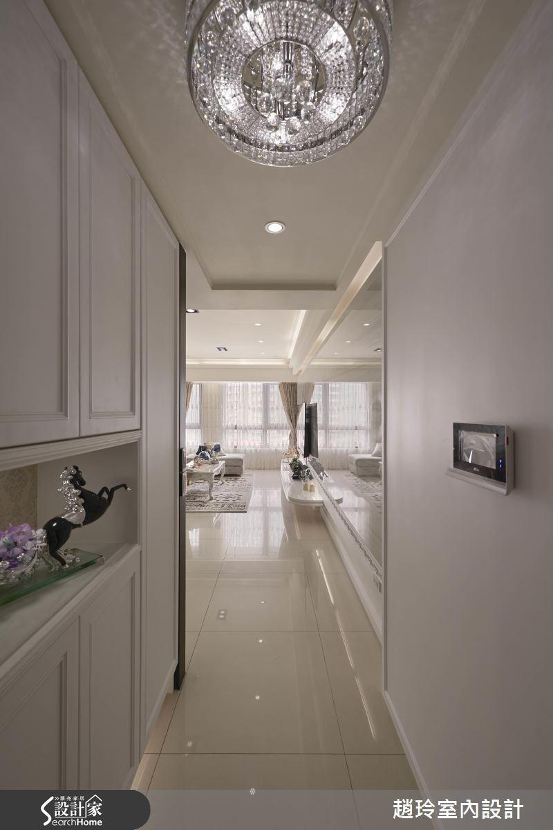 40坪新成屋(5年以下)_新古典走廊案例圖片_趙玲室內設計有限公司_趙玲_31之1