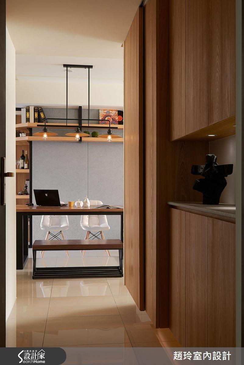 35坪新成屋(5年以下)_休閒風餐廳走廊案例圖片_趙玲室內設計有限公司_趙玲_37之1