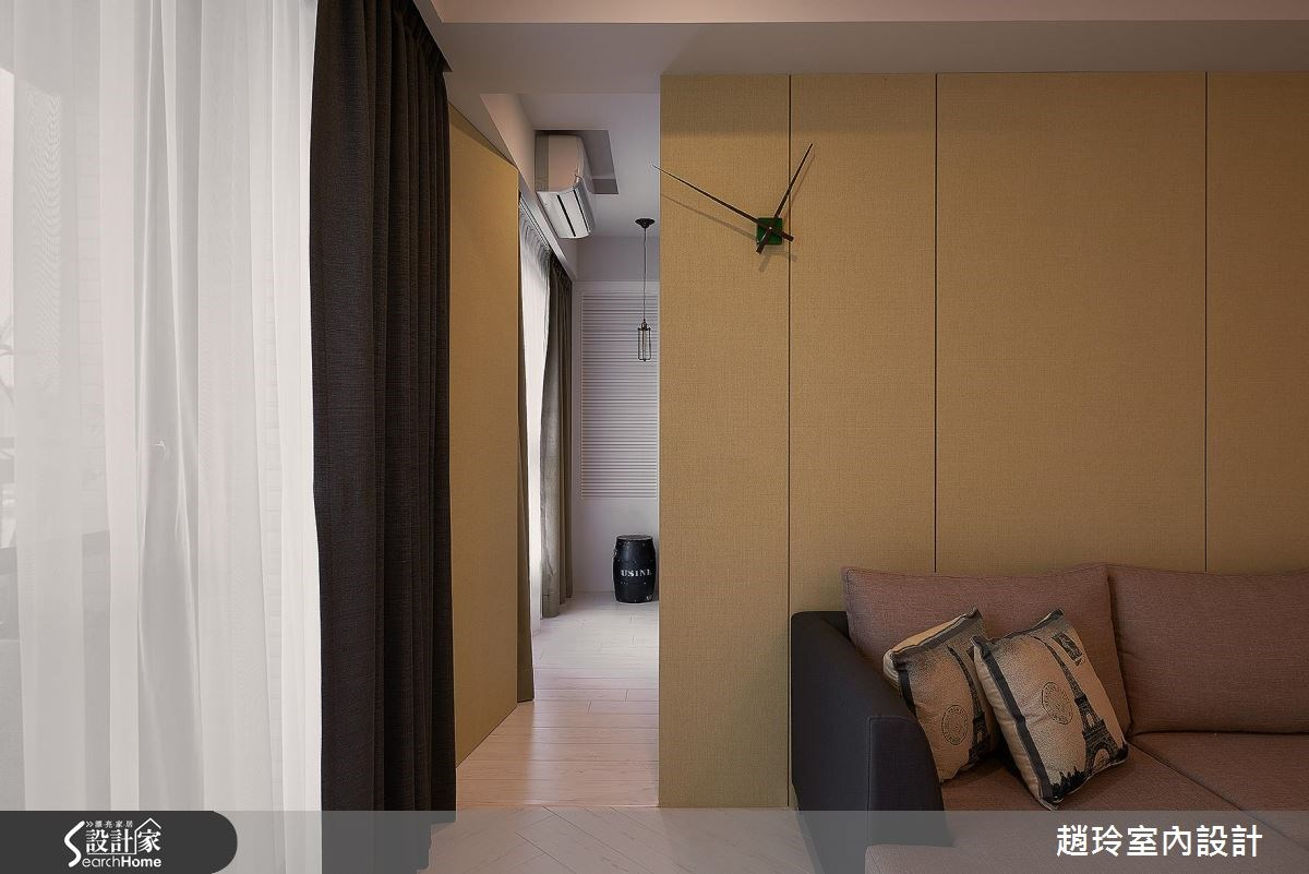 40坪新成屋(5年以下)_現代風客廳走廊案例圖片_趙玲室內設計有限公司_趙玲_38之3