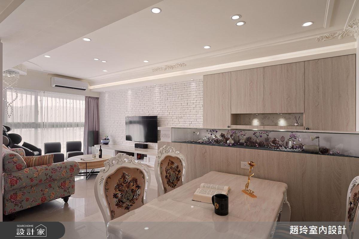 43坪新成屋(5年以下)_鄉村風餐廳案例圖片_趙玲室內設計有限公司_趙玲_40之3
