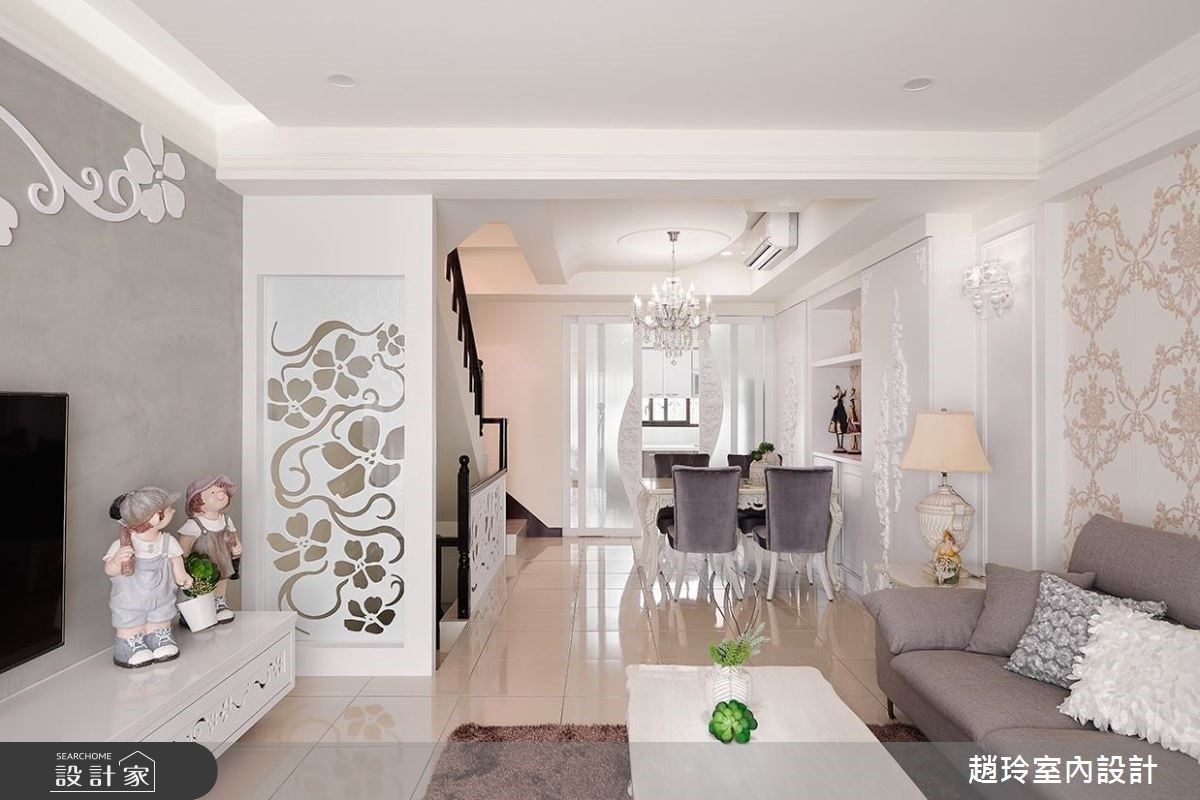 72坪新成屋(5年以下)_新古典客廳案例圖片_趙玲室內設計有限公司_趙玲_43之4