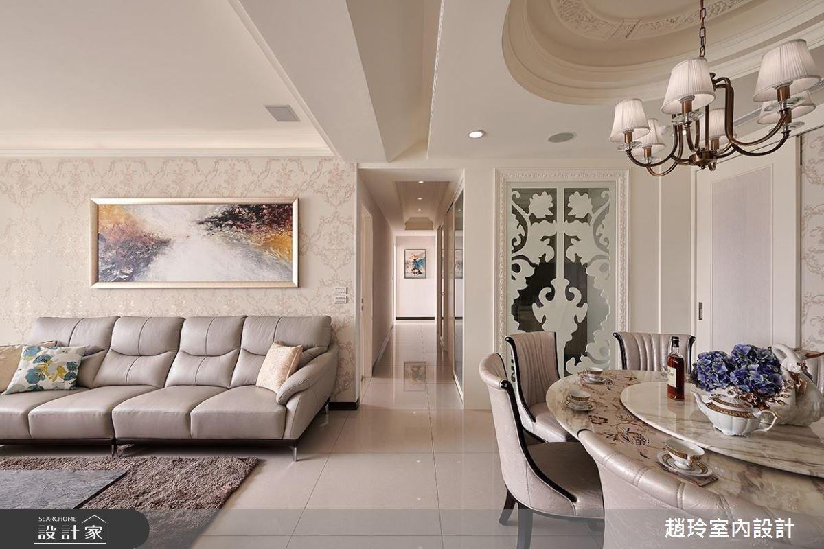 知性、從容、有魅力!新古典大宅的優雅風情
