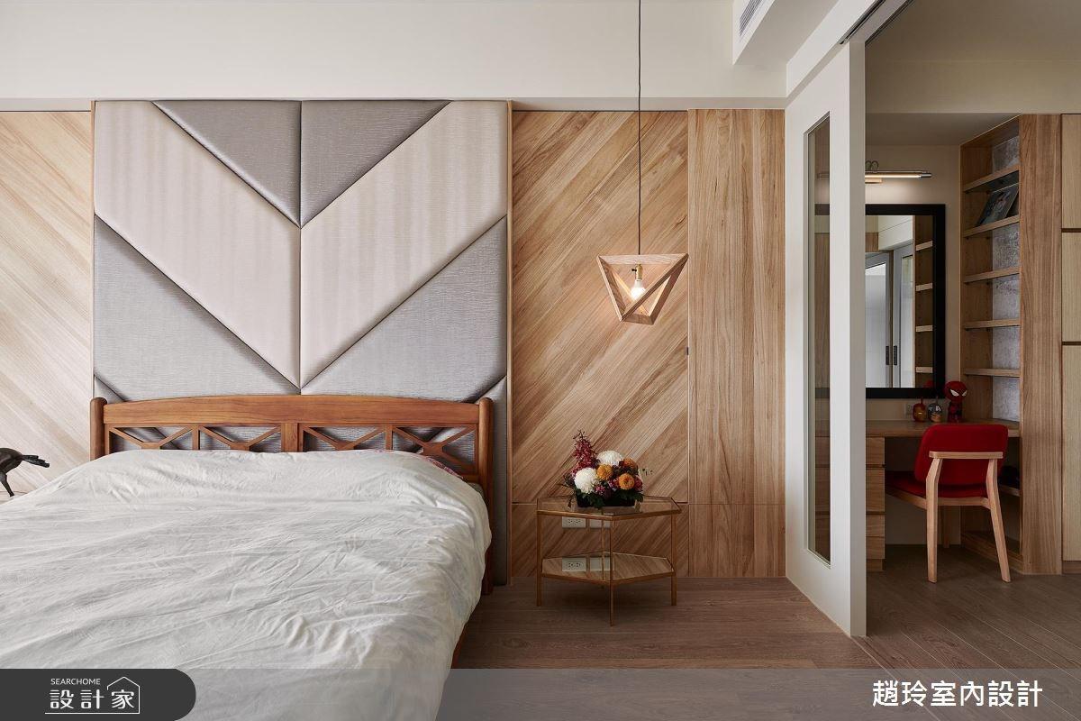 82坪新成屋(5年以下)_現代風臥室案例圖片_趙玲室內設計有限公司_趙玲_45之2