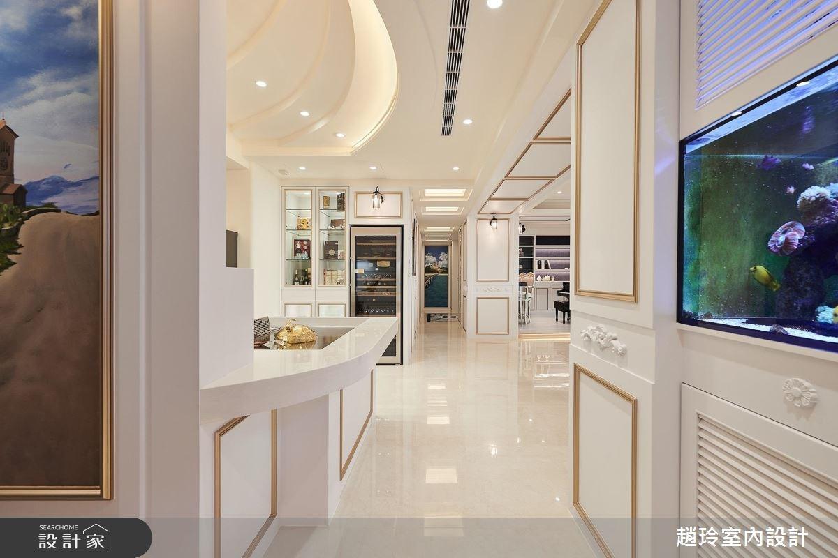 95坪新成屋(5年以下)_奢華風玄關客廳案例圖片_趙玲室內設計有限公司_趙玲_46之2