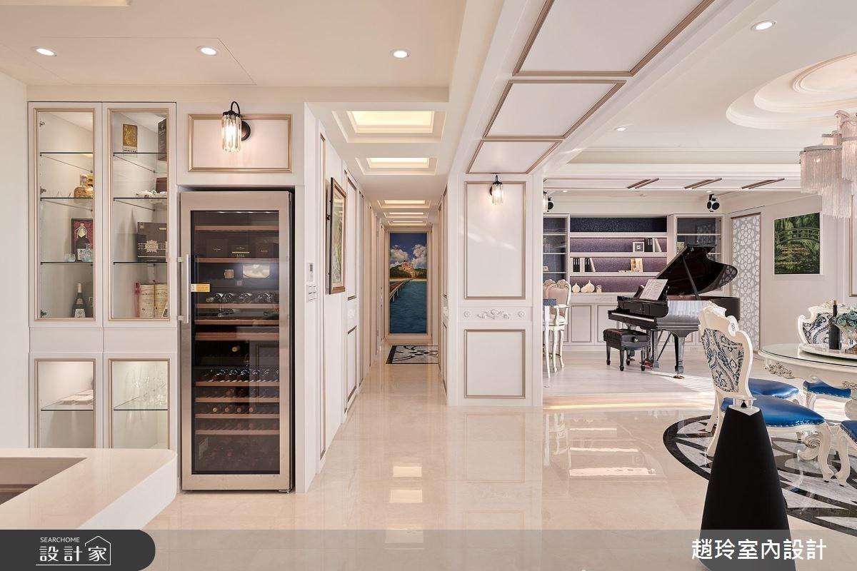 95坪新成屋(5年以下)_奢華風客廳案例圖片_趙玲室內設計有限公司_趙玲_46之3