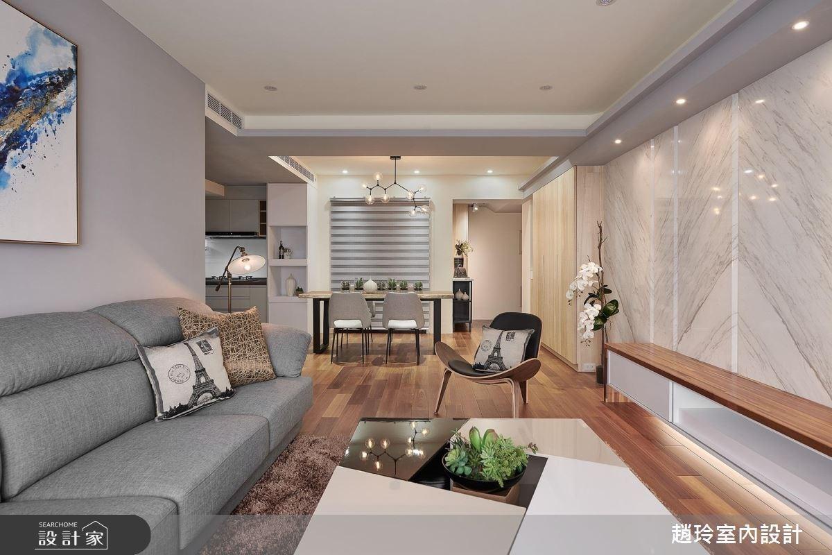 53坪新成屋(5年以下)_日式無印風客廳案例圖片_趙玲室內設計有限公司_趙玲_47之2