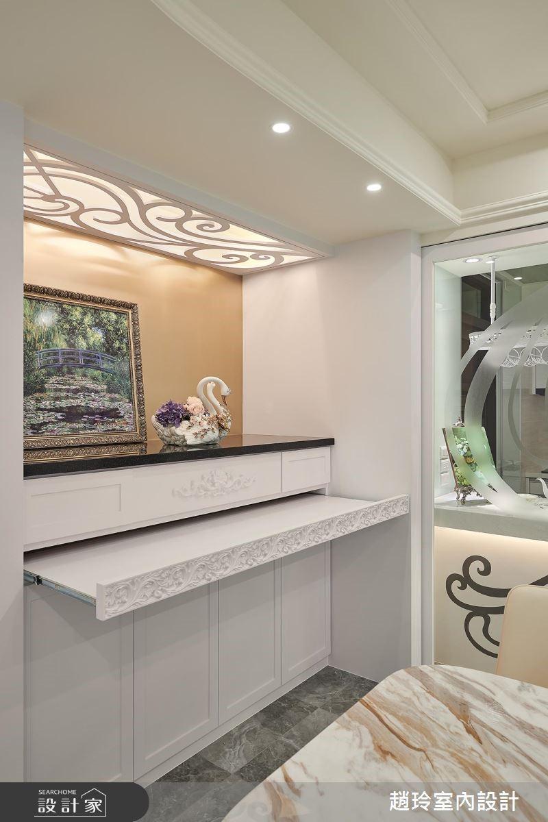 72坪新成屋(5年以下)_新古典餐廳案例圖片_趙玲室內設計有限公司_趙玲_49之13