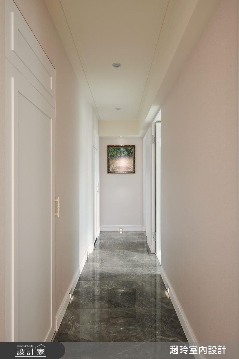 72坪新成屋(5年以下)_新古典走廊案例圖片_趙玲室內設計有限公司_趙玲_49之6