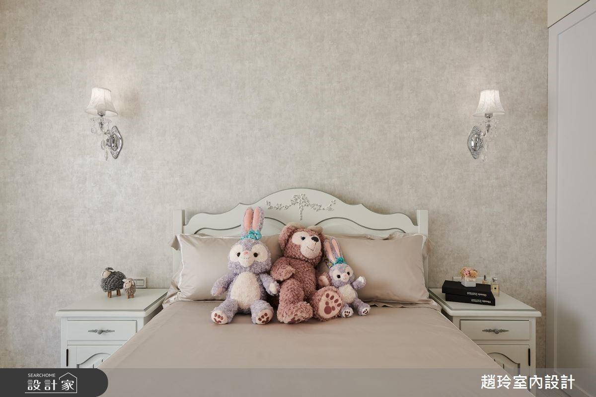 72坪新成屋(5年以下)_新古典臥室案例圖片_趙玲室內設計有限公司_趙玲_49之7