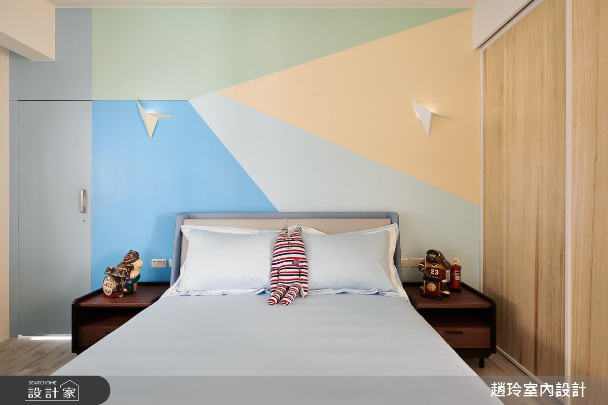 72坪新成屋(5年以下)_新古典臥室案例圖片_趙玲室內設計有限公司_趙玲_49之9