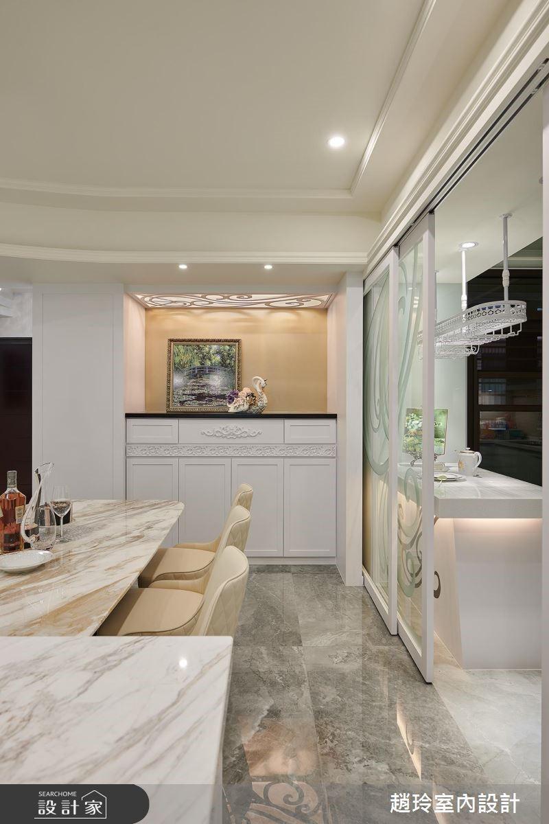 72坪新成屋(5年以下)_新古典餐廳案例圖片_趙玲室內設計有限公司_趙玲_49之10