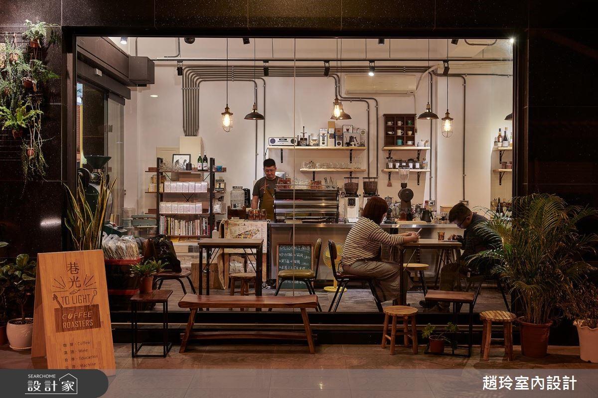10坪中古屋(5~15年)_工業風商業空間案例圖片_趙玲室內設計有限公司_趙玲_51之7