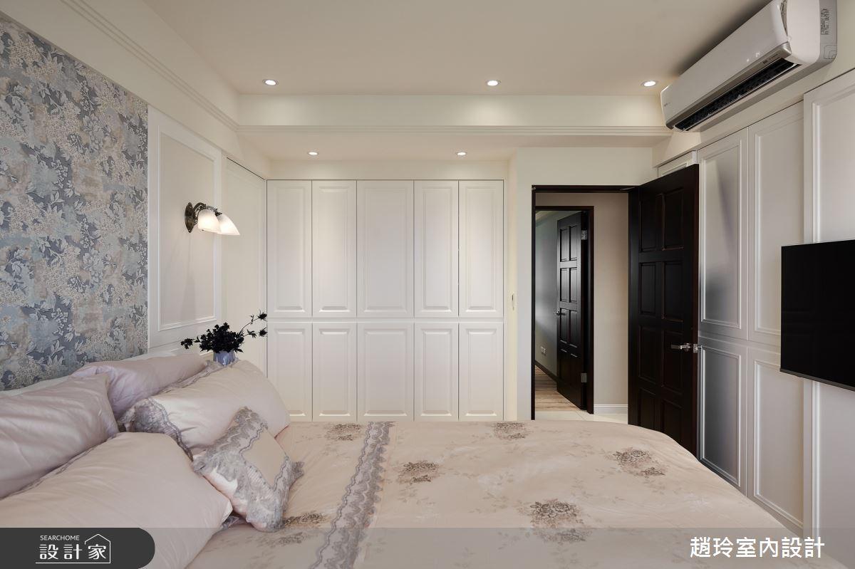 45坪新成屋(5年以下)_新古典臥室案例圖片_趙玲室內設計有限公司_趙玲_54之24