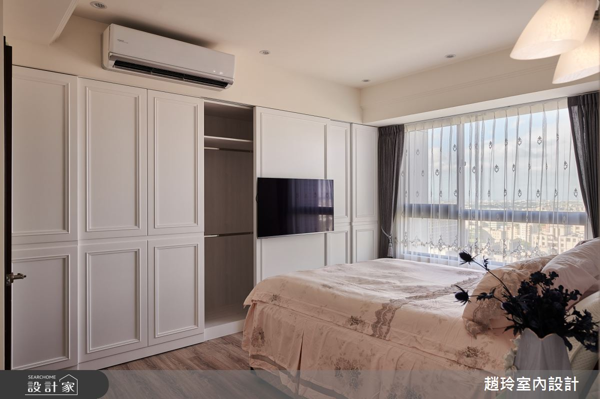 45坪新成屋(5年以下)_新古典臥室案例圖片_趙玲室內設計有限公司_趙玲_54之23