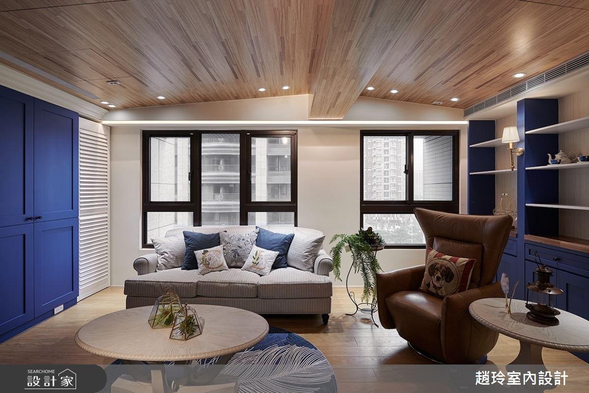 45坪新成屋(5年以下)_美式風客廳案例圖片_趙玲室內設計有限公司_趙玲_55之2