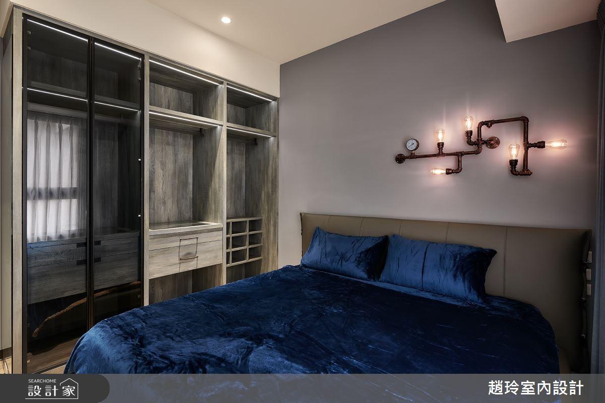 50坪新成屋(5年以下)_美式風臥室案例圖片_趙玲室內設計有限公司_趙玲_56之13