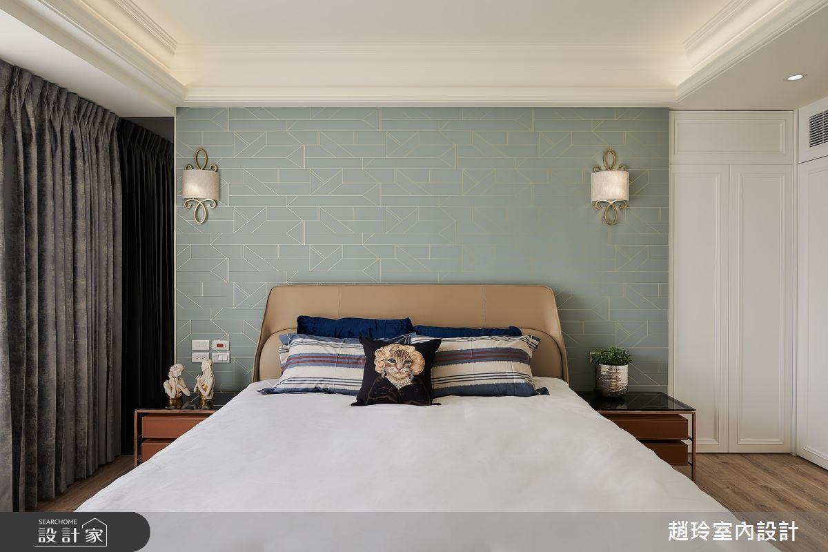 50坪新成屋(5年以下)_美式風臥室案例圖片_趙玲室內設計有限公司_趙玲_56之10